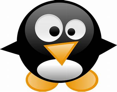 Clipart Penguins Penguin Transparent Linux Tux Animal