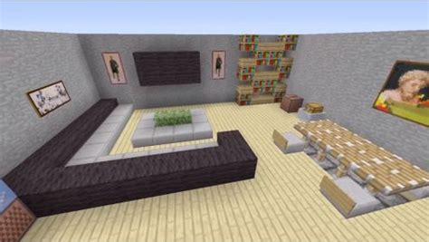 Living Room Ideas In Minecraft by Minecraft House Interior Living Room Search