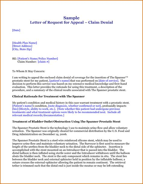 An appeal letter prompts the insurer to reconsider their denial of your claim and review your case. appeal letter for insurance claim denial lease template response costraffgetu soup | Lettering ...