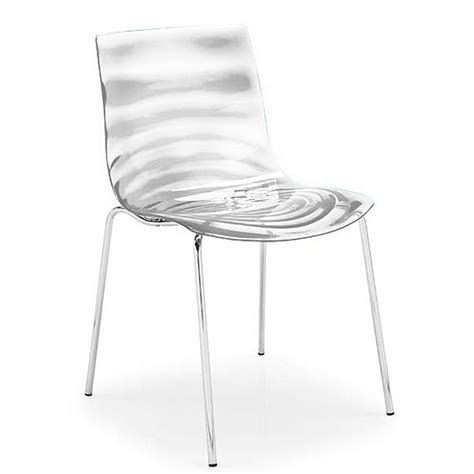 l eau dining chair by calligaris