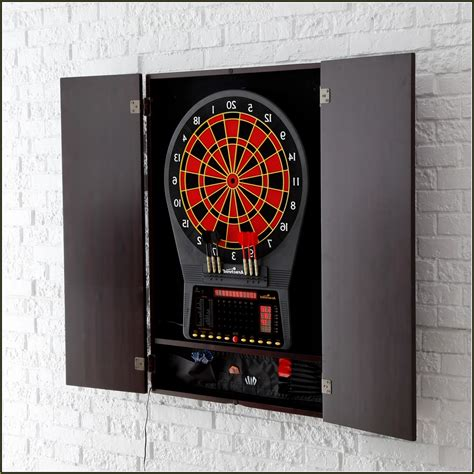 electronic dart board cabinet home design ideas