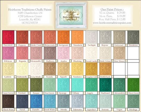world s best chalk paints heirloom traditions chalk paint