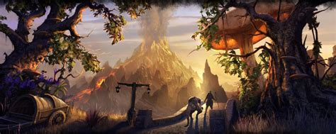 Stonefalls Loading Screen Eso The Ashfall From The