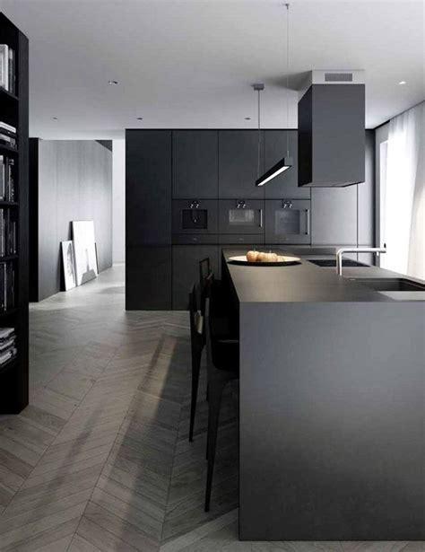 cocinas negras ideas   resultado espectacular