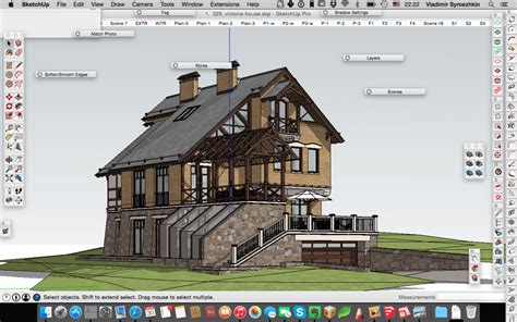 trimble sketchup pro  modelovanie academy