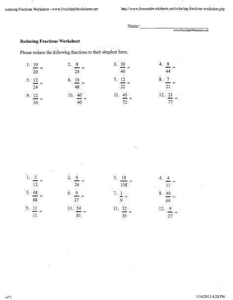 images  fraction worksheets   grade