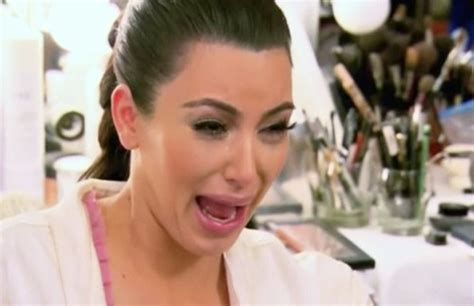 Ugly Cry Meme - here s every product kim kardashian uses to recover from an ugly cry allure