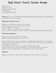 high school information on resume 461 best images about resume sles on resume builder cover letters and