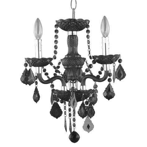 hton bay 3 light chrome theresa chandelier with