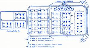 Mercedes Benz 190e 1993 Fuse Box  Block Circuit Breaker Diagram