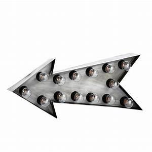applique fleche indus en metal l 64 cm dakota maisons du With appliques maison du monde