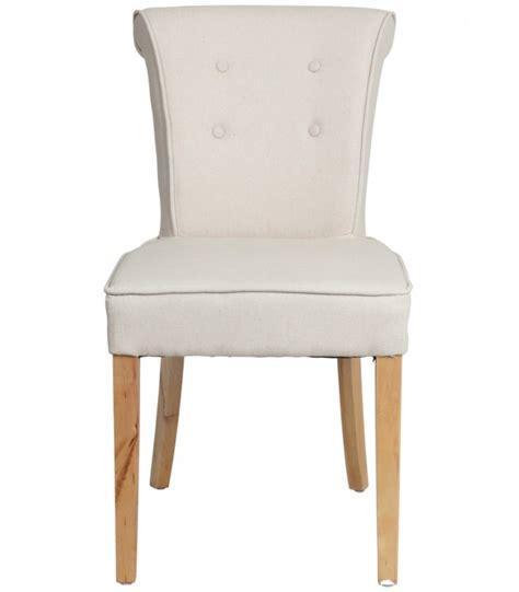 chaise cuir beige salle à manger chaise de salle à manger classique capitonnée beige j