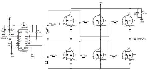 Brushless Motor Floating Inverter Output Causing Over