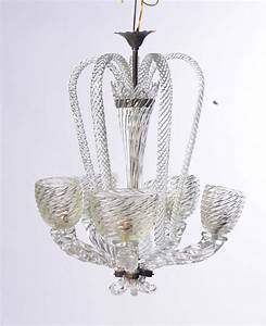 Gallery of murano chandelier by barovier e toso at 1stdibs for Barovier e toso lampadari prezzi
