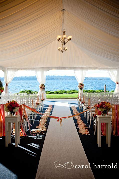 seattle area wedding venue  lake washington woodmark