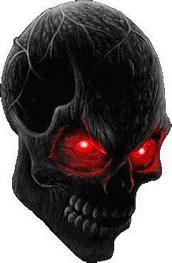 skull png  darkminded letters  deviantart