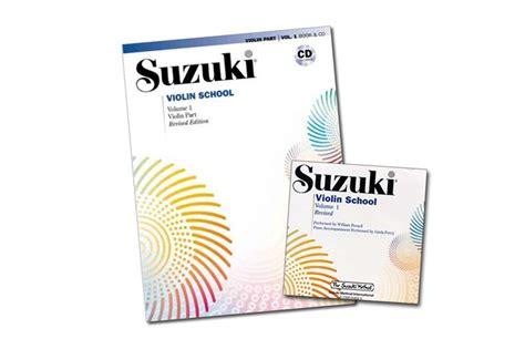 Suzuki Violin Cd suzuki violin school volume 1 revised edition book cd