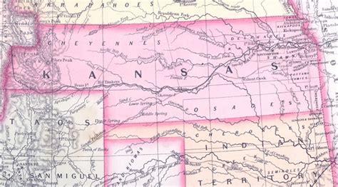 Kansas territory map | Lincoln's Writings