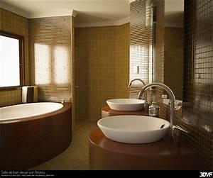 galerie 3dvfcom salle de bain design par beanou With photos salle de bain design