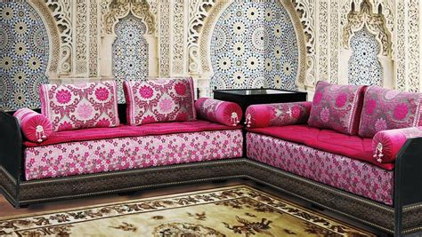 canapé arabe pas cher canape arabe salon marocain en bois noir style moderne