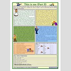 This Is Me Part 2 *** Reading Comprehension For Adults *** Lower Intermediate Level *** With Key