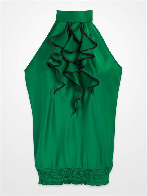 womens green blouse blouses green silk pintuck blouse