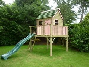 Maison De Jardin En Bois Enfant : la cabane de jardin pour enfant est une id e superbe pour votre jardin ~ Dode.kayakingforconservation.com Idées de Décoration