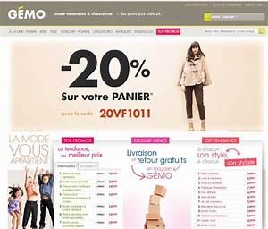 Code Reduction La Boutique Du Net : gemo 20 pourcent du 17 au 19 octobre bons plans et ~ Dailycaller-alerts.com Idées de Décoration