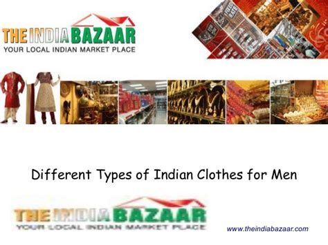 Different Types Of Indian Clothes For Men