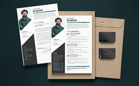 spencer mcbride product designer resume template