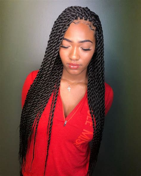 havana twist braids hairstyles   black women