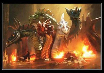 Dungeons Dragon Dragons Dnd Tiamat Realms Forgotten
