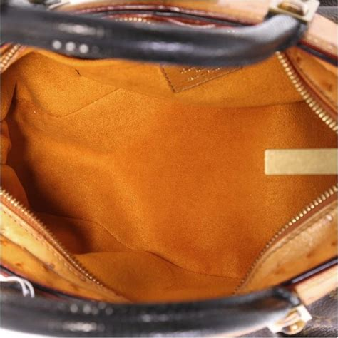 louis vuitton macha waltz handbag monogram canvas  exotics  stdibs