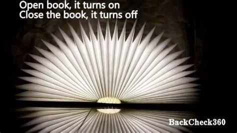 Lumio Book L Shark Tank by Backcheck 360 Led Folding Book L Light Lumio