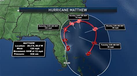 hurricane matthew slams  florida light effects  dc