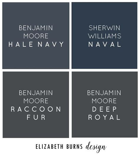best navy paint colors benjamin hale navy sherwin williams naval benjamin raccoon