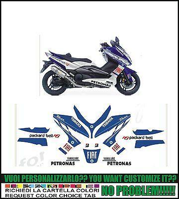 kit adesivi stickers compatibili tmax 2008 2011 m1 movistar moto gp eur 90 00 picclick it