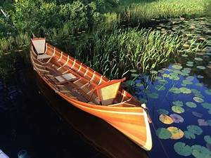 Beautiful Handcrafted Guideboats From Kevlar And Cedar