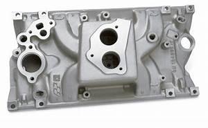 Chevy Small Block Intake Manifold  Vortec Head Design For