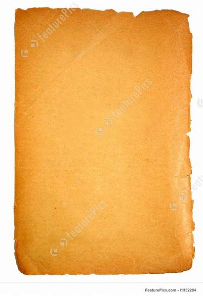 Blank Paper Featurepics Texture Isolated