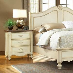 Chateau french country sleigh bedroom set dcg stores for French country bedroom furniture