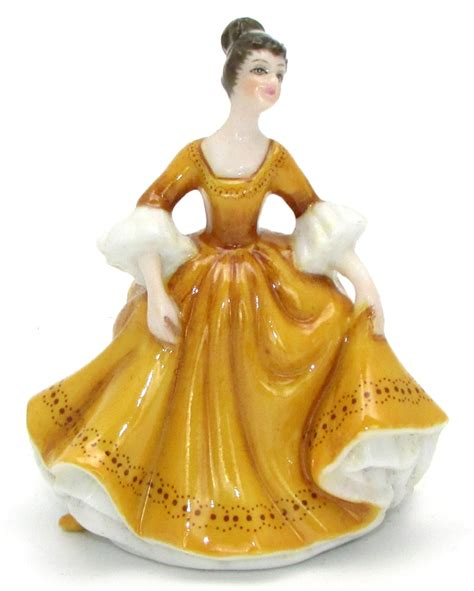royal doulton stephanie miniature pretty ladies figurine