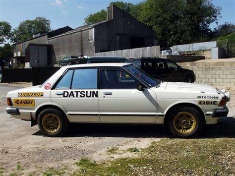 Datsun Bluebird For Sale by For Sale Datsun Bluebird 180b Sss Turbo Rally Car