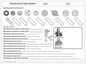 Planets of The Solar System Worksheet, Theme Based ...