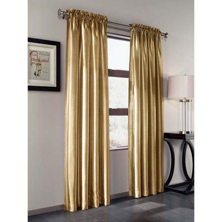 walmart curtain panels treasure faux silk curtain panel set of 2 walmart