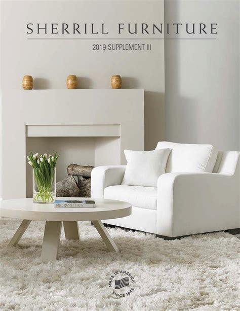 catalogs sherrill furniture company   america