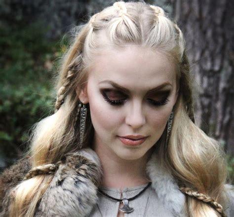 viking hairstyles  women  men inspirations