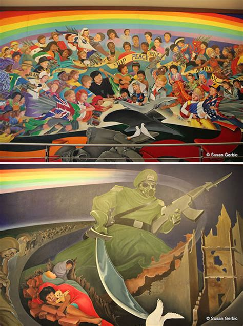 Denver Airport Murals Conspiracy Debunked by The Denver International Airport Conspiracy Csi