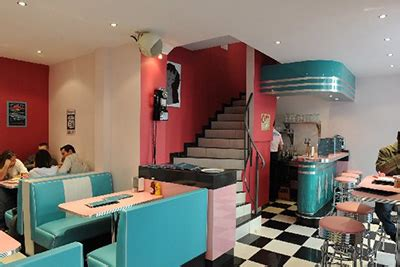 restaurant insolite ambiance caf 233 t 233 ria am 233 ricaine des 233 es 50