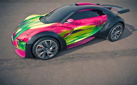 Citroen Survolt Concept Car 3 Wallpaper Hd Car Wallpapers